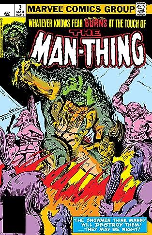 Man-Thing (1979-1981) #3