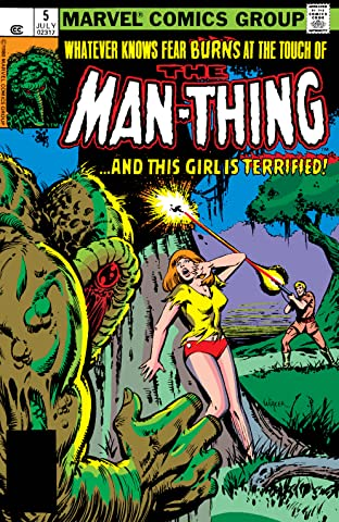 Man-Thing (1979-1981) No.5