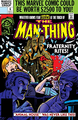 Man-Thing (1979-1981) #6