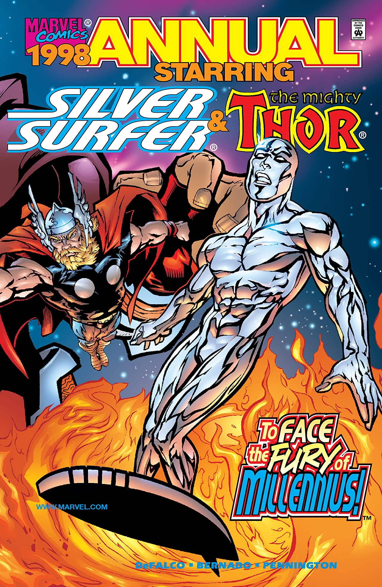 Marvel Comics Silver Surfer /& Thor Annual 1998