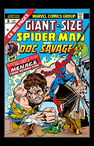 Giant Size Spider-Man (1974-1975) #3
