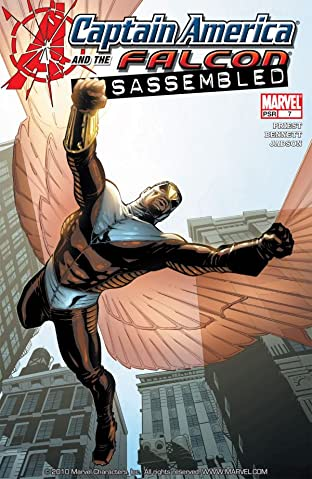 Captain America & the Falcon #7