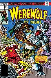 Werewolf By Night (1972-1988) #43