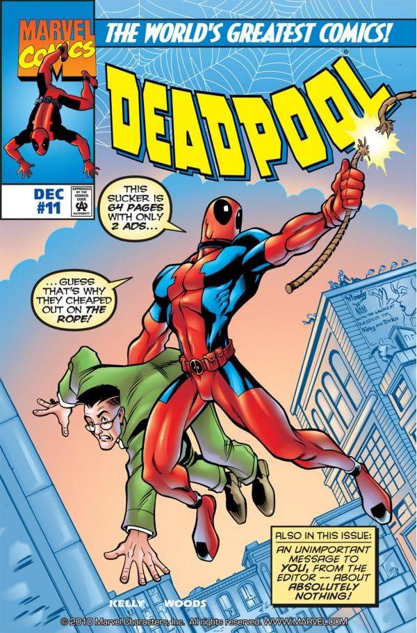 Deadpool (1997-2002) #11