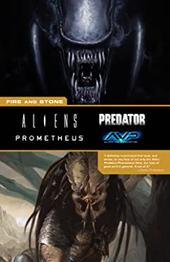 Aliens Predator Prometheus AVP: Fire and Stone