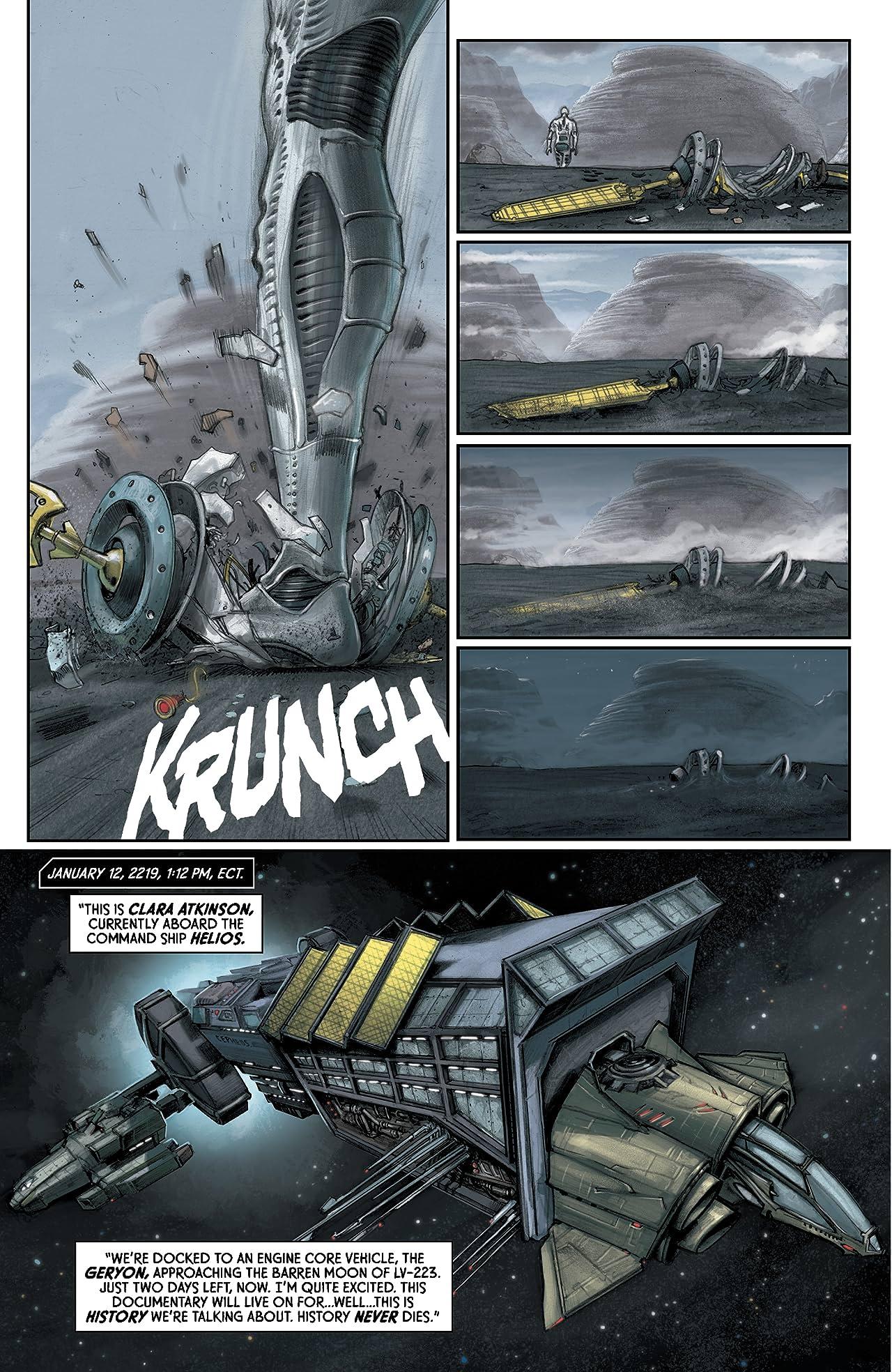 Aliens Predator Prometheus AVP: Fire and Stone