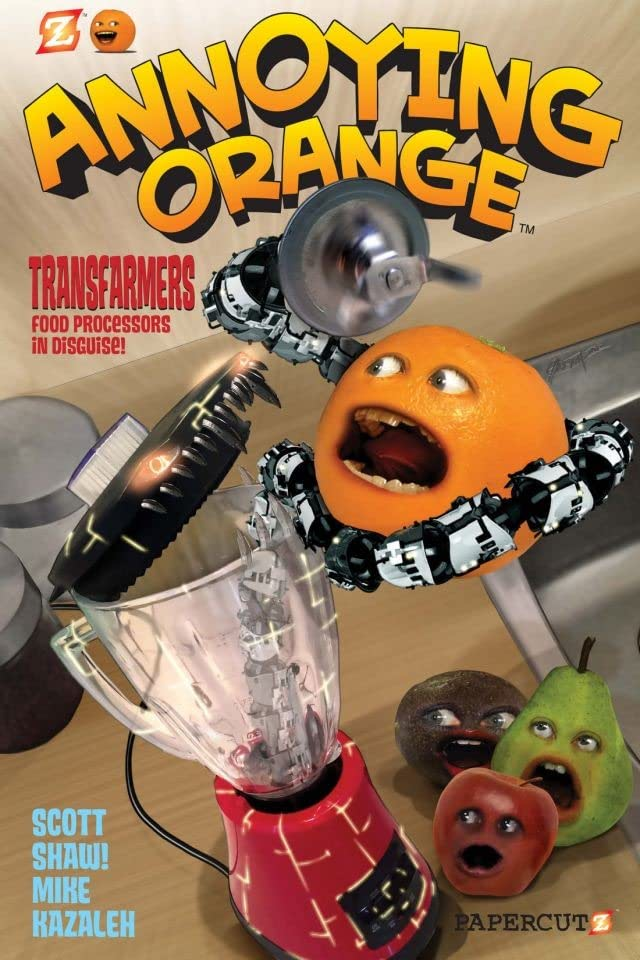 Annoying Orange Vol. 5: Transfarmers- Food Processors in Disguise