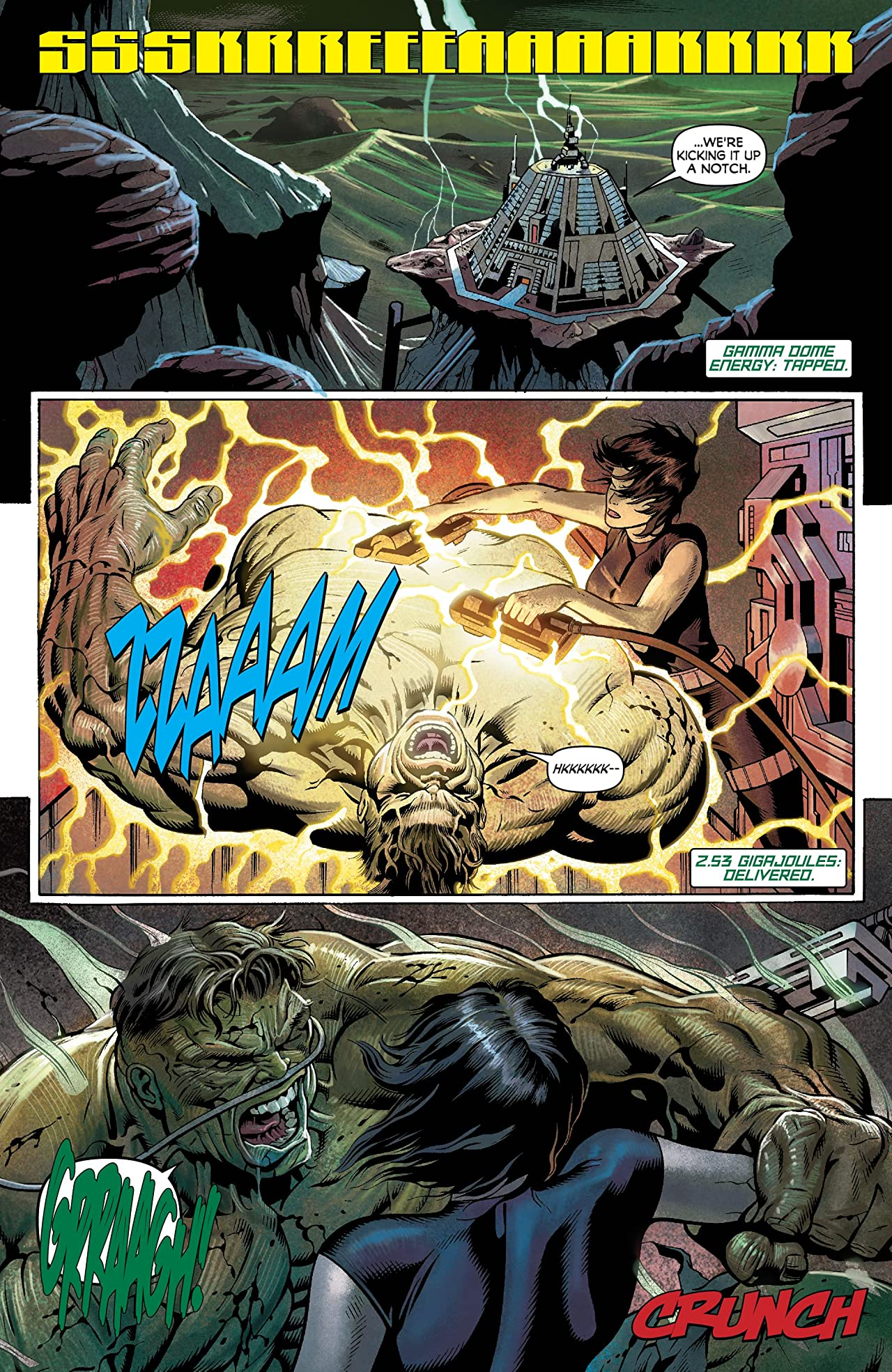 Incredible Hulks: Planet Savage