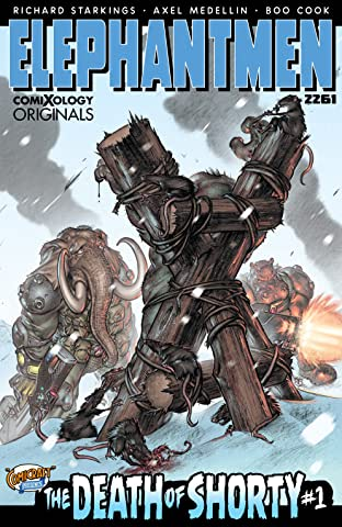 Elephantmen 2261: The Death of Shorty (comiXology Originals) No.1 (sur 5)