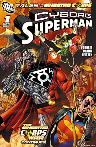 Tales of the Sinestro Corps Presents: Cyborg Superman