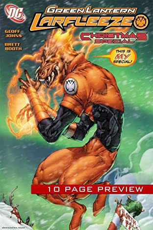 Green Lantern: Larfleeze Christmas: 10-Page Preview