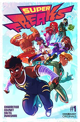 Superfreaks (comiXology Originals) No.1 (sur 5)