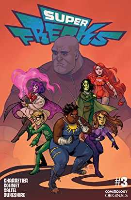 Superfreaks (comiXology Originals) #3 (of 5)