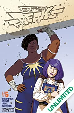 Superfreaks (comiXology Originals) #5 (of 5)