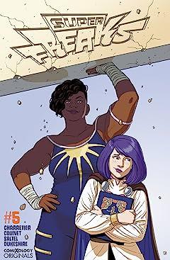 Superfreaks (comiXology Originals) #5 (of 5)
