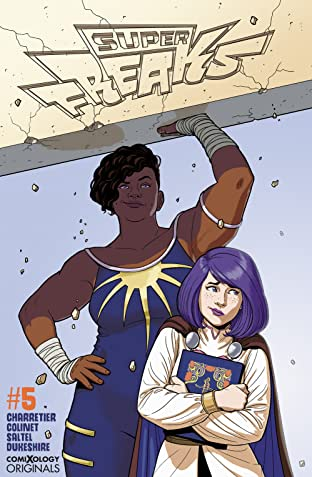 Superfreaks (comiXology Originals) No.5 (sur 5)