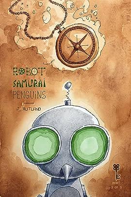 Robot Samurai Penguins #3