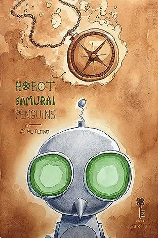 Robot Samurai Penguins No.3