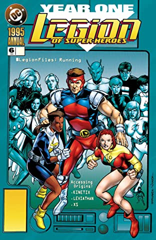 Legion of Super-Heroes(1989-2000) Annual #6