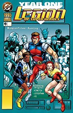 Legion of Super-Heroes(1989-2000) Annual No.6