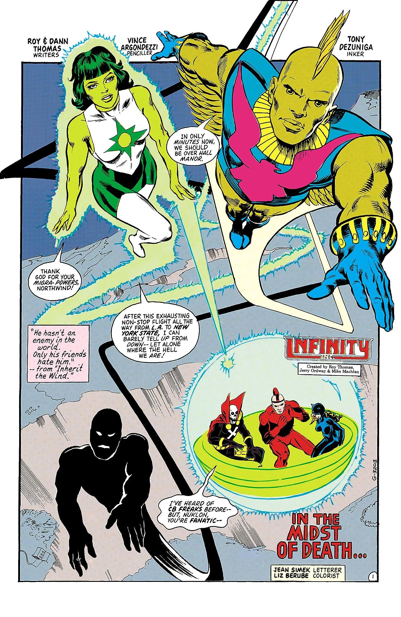 Infinity, Inc. (1984-1988) #44