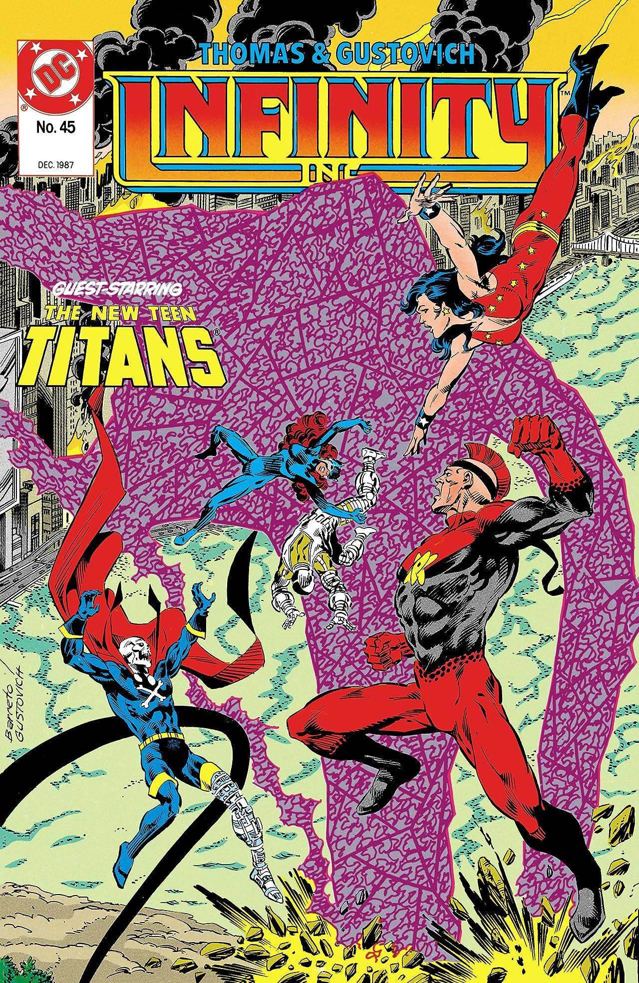 Infinity, Inc. (1984-1988) #45