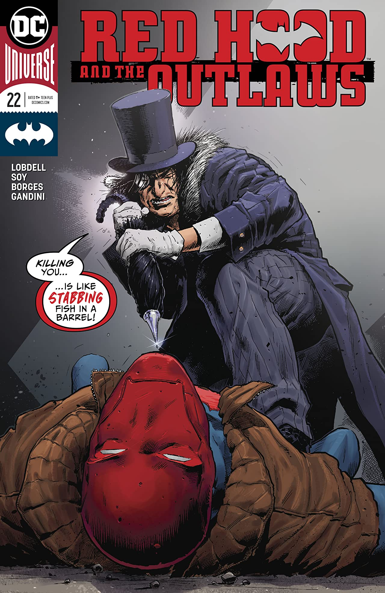Red Hood and the Outlaws (2016-) No.22