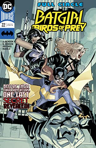 Batgirl and the Birds of Prey (2016-) #22
