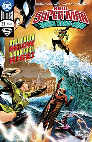 New SuperMan and the Justice League of China (2016-) #23