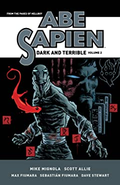 Abe Sapien: Dark and Terrible Tome 2