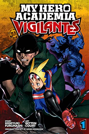 My Hero Academia: Vigilantes Vol. 1