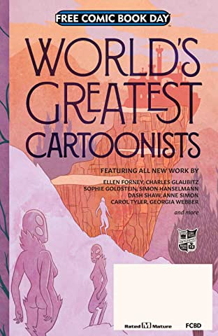 FCBD World's Greatest Cartoonists 2018