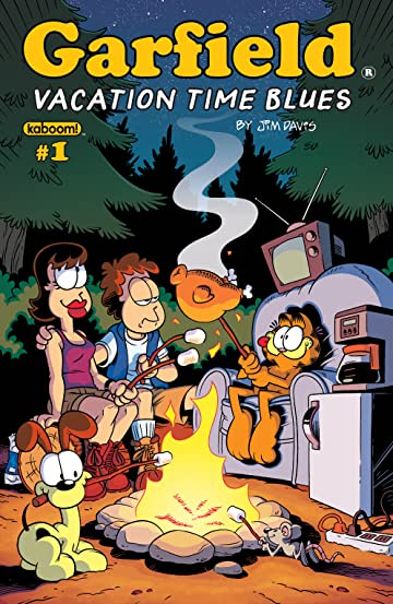 Garfield 2018 Vacation Time Blues #1
