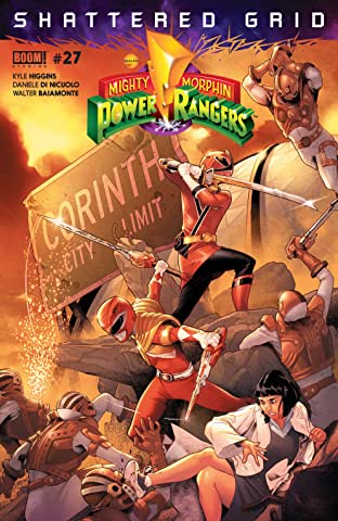 Mighty Morphin Power Rangers No.27