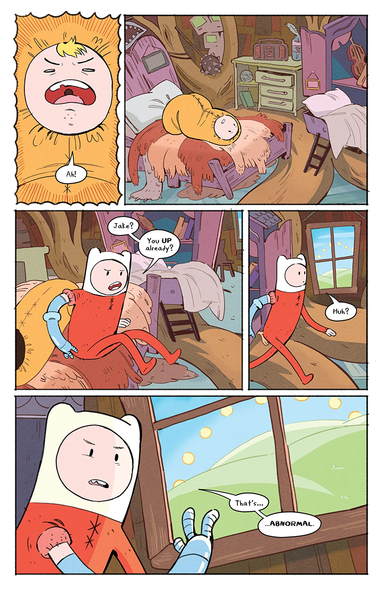 Adventure Time: Beginning of the End #1
