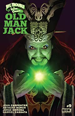 Big Trouble in Little China: Old Man Jack #9