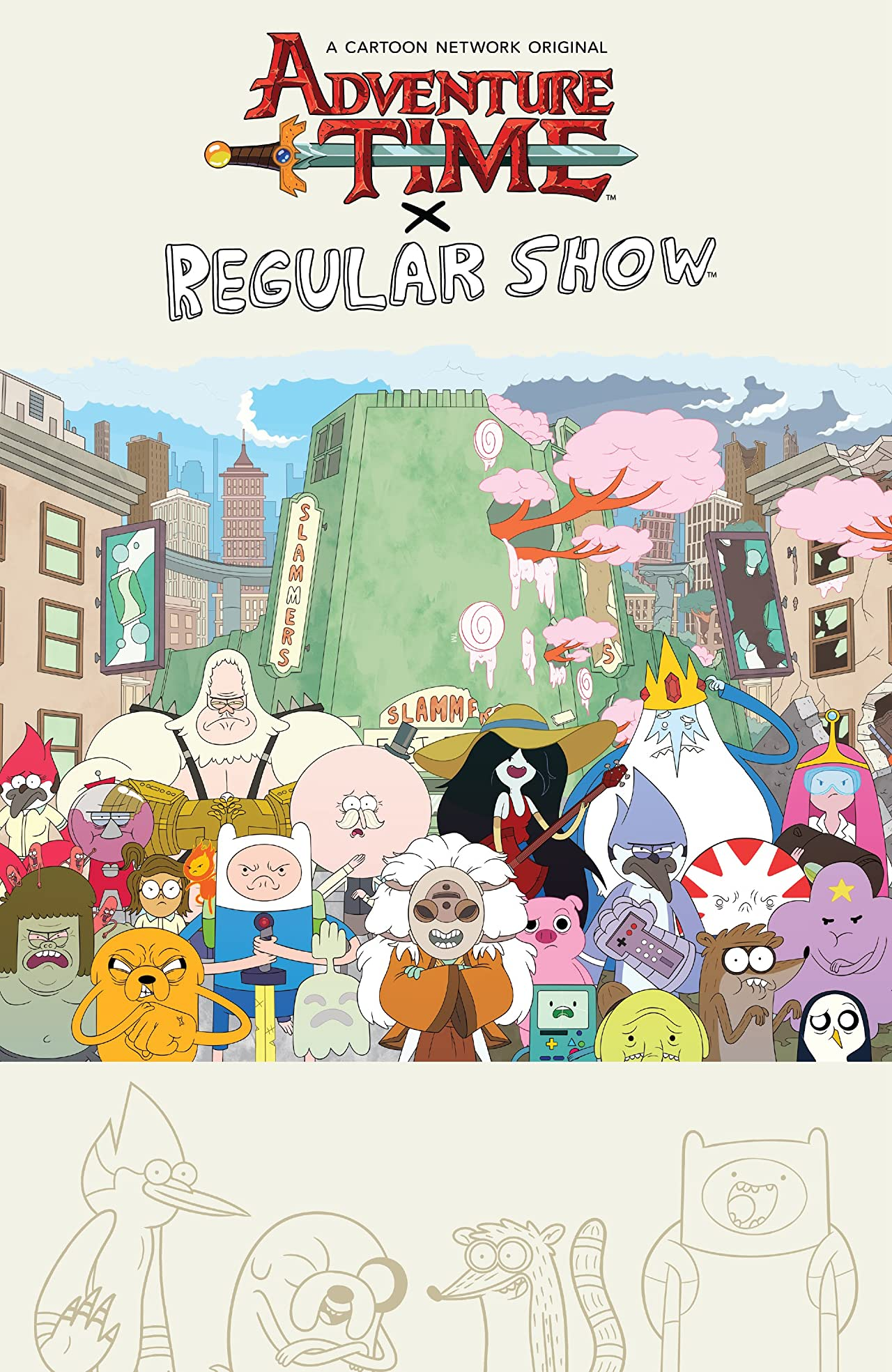 Adventure Time/Regular Show