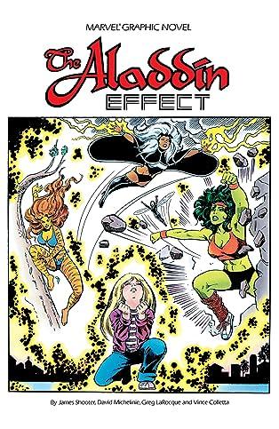 Marvel Graphic Novel #16: The Aladdin Effect