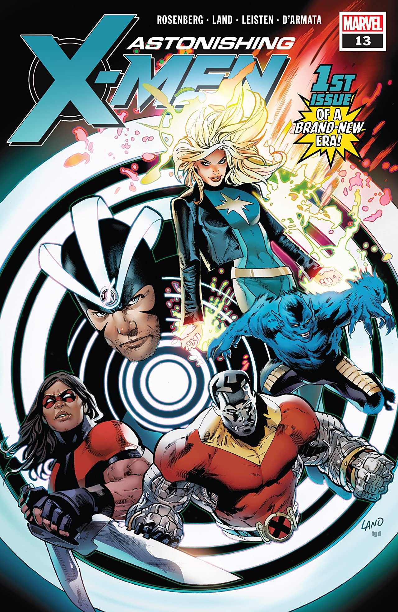 Astonishing X-Men (2017-2018) #13