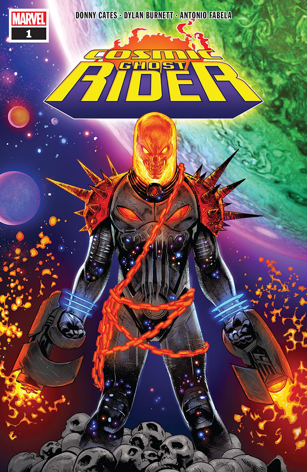Cosmic Ghost Rider (2018) #1 (of 5)