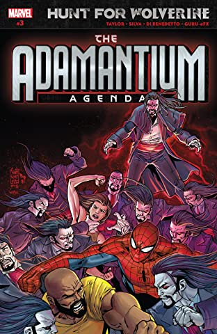 Hunt For Wolverine: Adamantium Agenda (2018) No.3 (sur 4)