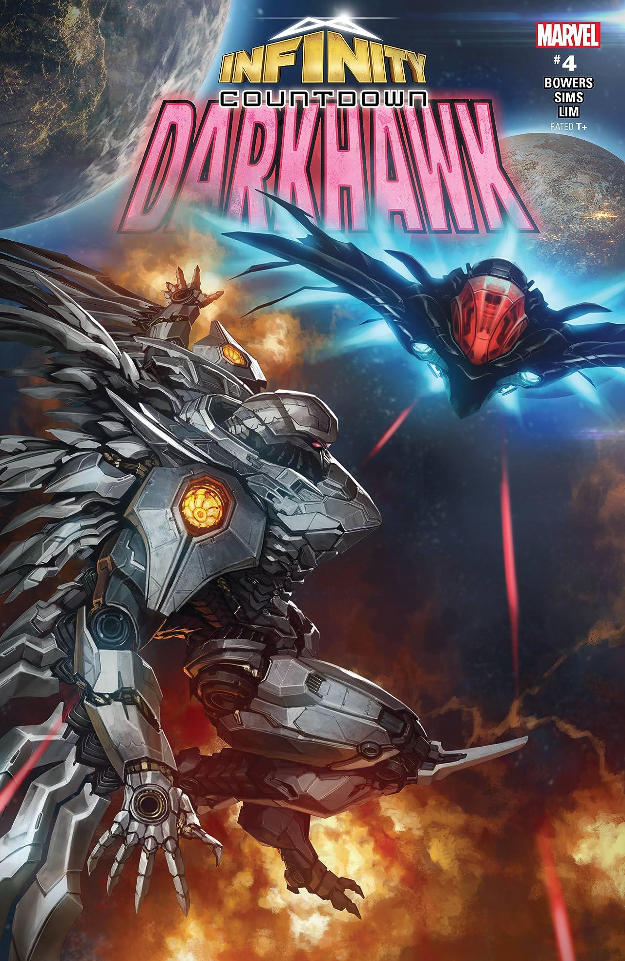 Infinity Countdown: Darkhawk (2018) No.4 (sur 4)