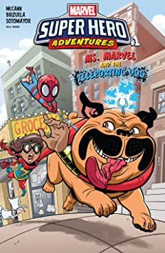 Marvel Super Hero Adventures: Ms. Marvel and the Teleporting Dog (2018) No.1