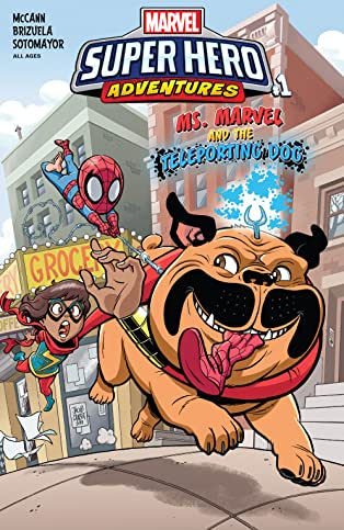 Marvel Super Hero Adventures: Ms. Marvel and the Teleporting Dog (2018) #1