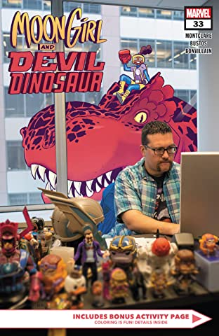 Moon Girl and Devil Dinosaur (2015-) #33
