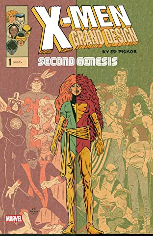 X-Men: Grand Design - Second Genesis (2018) No.1 (sur 2)