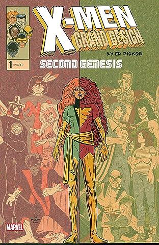 X-Men: Grand Design - Second Genesis (2018) #1 (of 2)