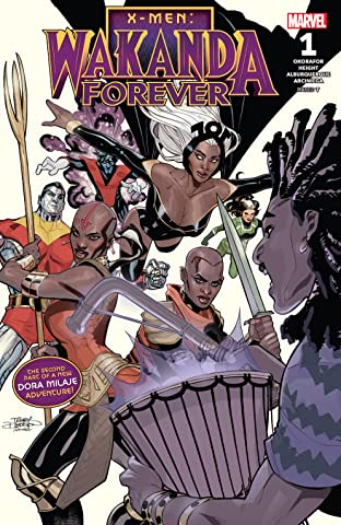 X-Men: Wakanda Forever (2018) #1