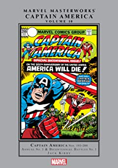 Captain America Masterworks Vol. 10