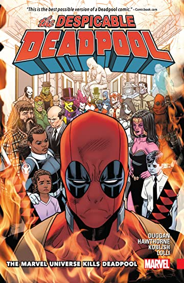 Image result for the marvel universe kills deadpool